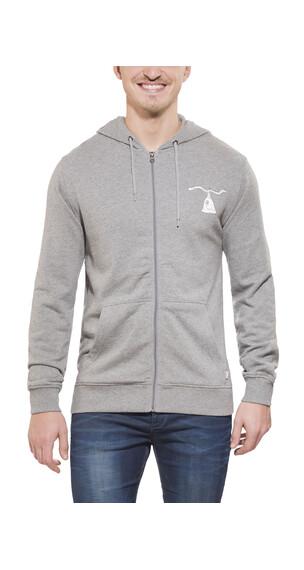 POLER Poler Wolf - Sweat-shirt Homme - Zip gris